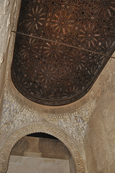 Alhambra Eastern Ceilings and Frescos